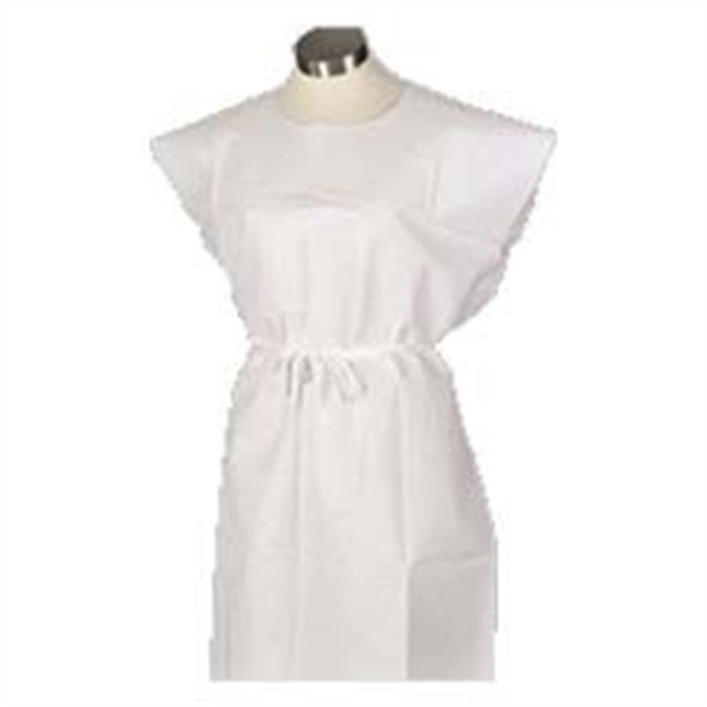 3-Ply Paper Disposable Medical Exam Gown 50/PK -
