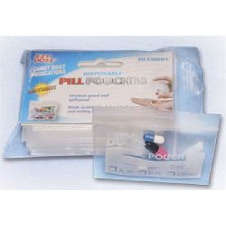 EZY Dose Disposable Pill Pouches -