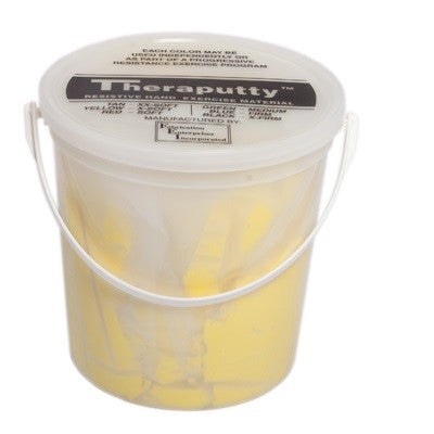CanDo Antimicrobial Theraputty - 5 lb - Yellow - X-soft