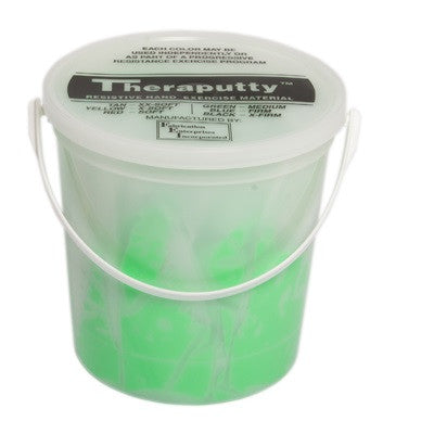CanDo Antimicrobial Theraputty - 5 lb - Green - Medium