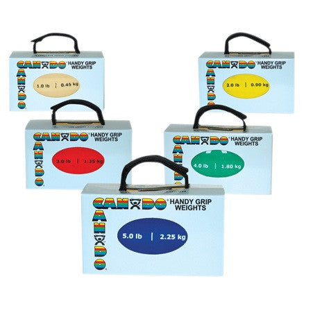 CanDo Handy Grip Weight Ball Set