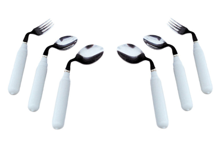 Comfort Grip Utensils - Right Handed Fork