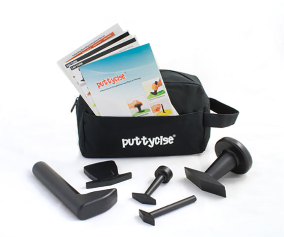 Puttycise Theraputty tool with bag
