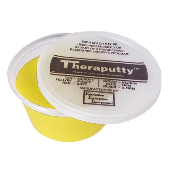 CanDo Antimicrobial Theraputty - 2 oz - Yellow - X-soft