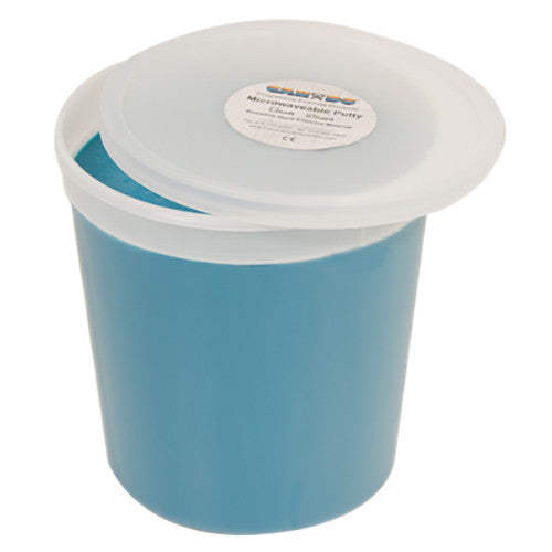 CanDo Microwave-Safe Theraputty - 5lb - Blue - Firm