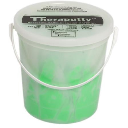CanDo Fragrant Theraputty - 5lb - Green - Medium - Apple