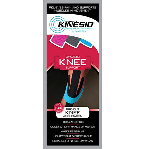 Kinesio® Pre-cut Kinesiology Tape - Knee Support