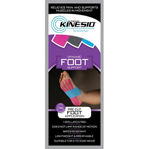 Kinesio® Pre-cut Kinesiology Tape - Foot Support