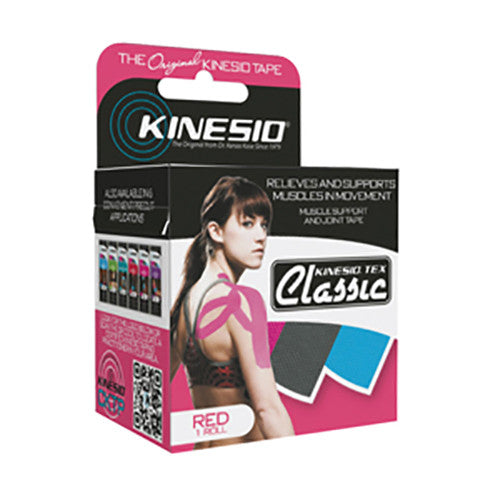 Kinesio Tex Classic Kinesiology Tape - Red
