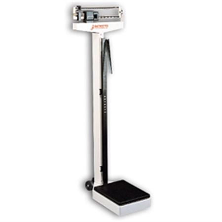 Balance Beam Scales - Mobile Eye-Level Balance Beam Scale with Height Rod