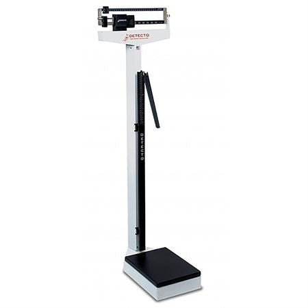 Balance Beam Scales - Stationary Detecto 437 with Height Rod
