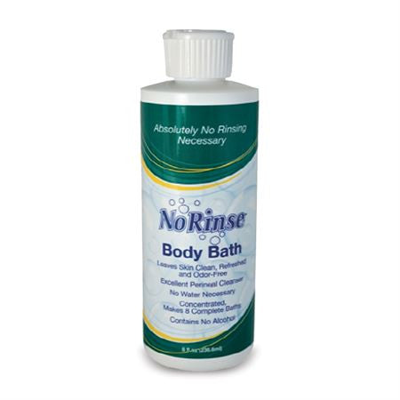 No Rinse® Body Bath - 8oz Bottle