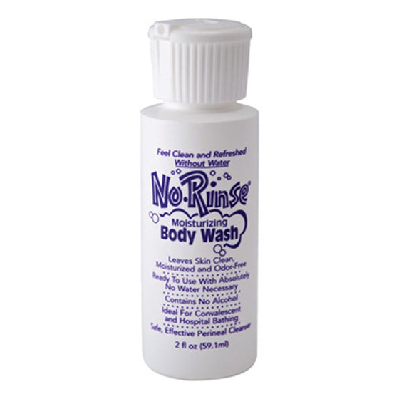 No Rinse® Body Wash - 2oz Bottle