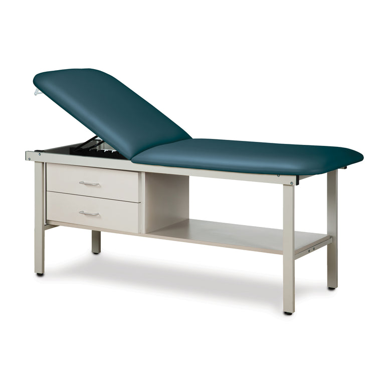 "Alpha Treatment Table with Two Drawers - 27"" - Color"