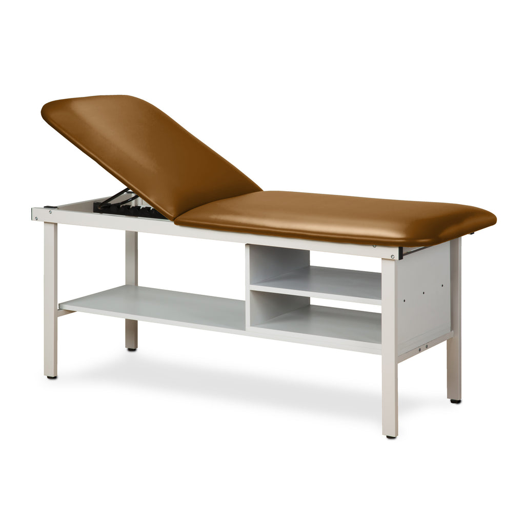 "Alpha Treatment Table with Two Shelves - 27"" - Color"