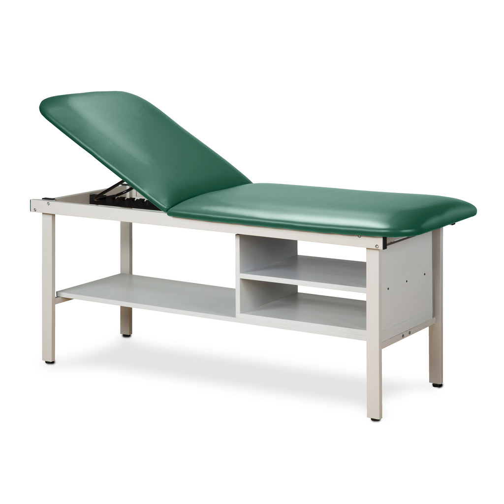 "Alpha Treatment Table with Two Shelves - 30"" - Color"