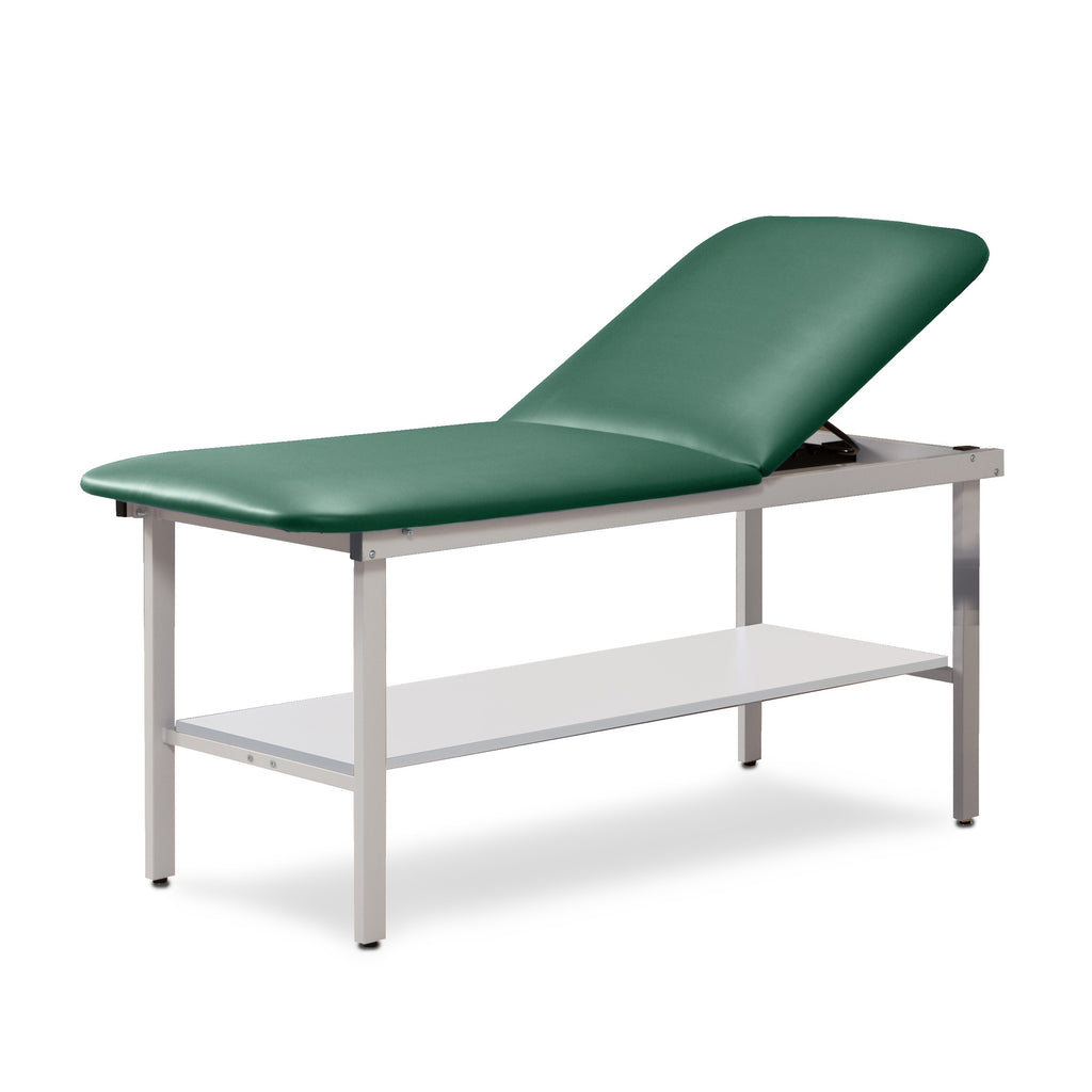 "Alpha Treatment Table with Shelf - 27"" - Color"