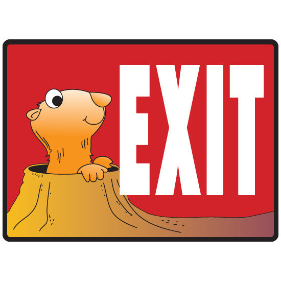 Exit Sign -