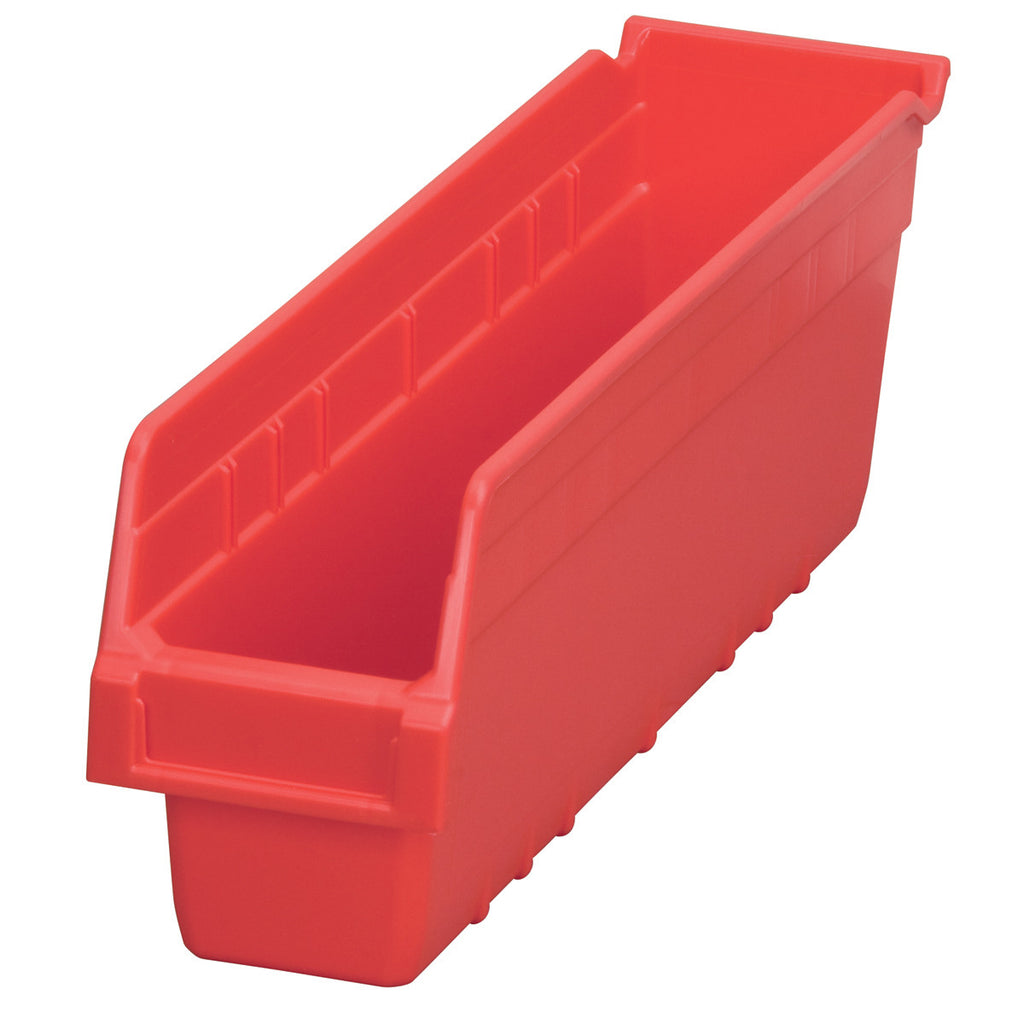 "Akro-Mils ShelfMax 17-7/8"" x 4-1/8"" x 6"" - Red"