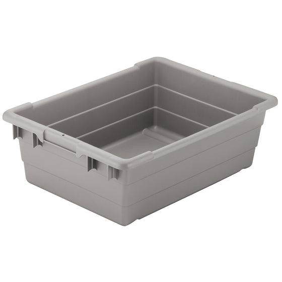 "Akro-Mils Cross-Stack Akro-Tub 34305 - 25"" x 16"" x 8"" - Gray"