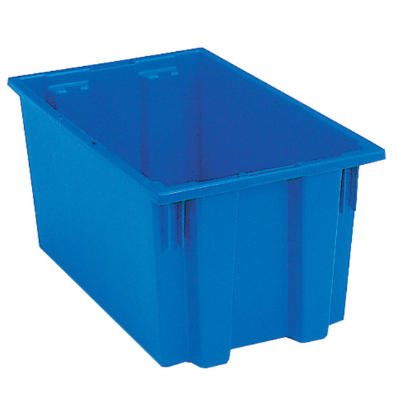 "Akro-Mils Nest & Stack Tote 35185 - 18"" x 11"" x 9"" - Blue"