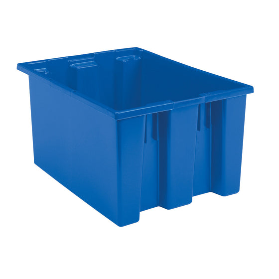"Akro-Mils Nest & Stack Tote 35230 - 23-1/2"" x 19-1/2"" x 13"" - Blue"