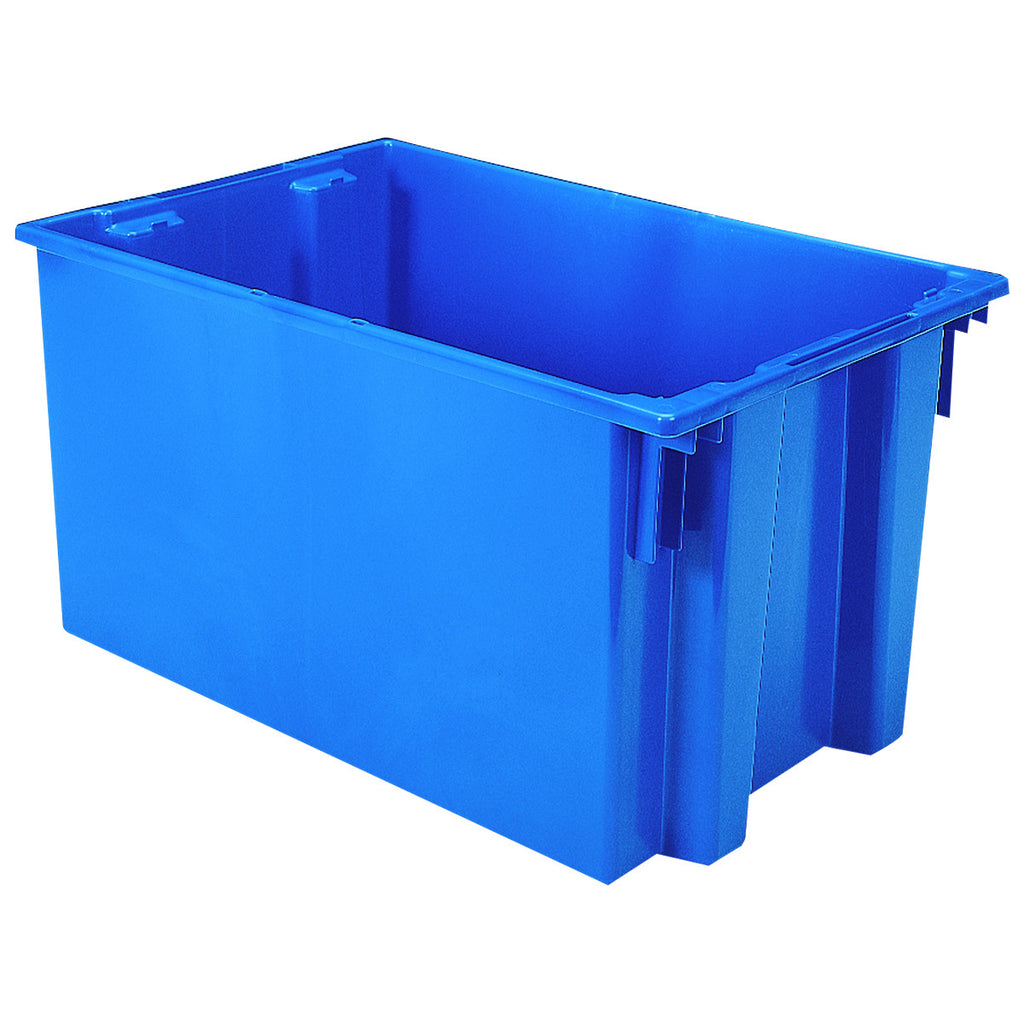 "Akro-Mils Nest & Stack Tote 35300 - 29-1/2"" x 19-1/2"" x 15"" - Blue"