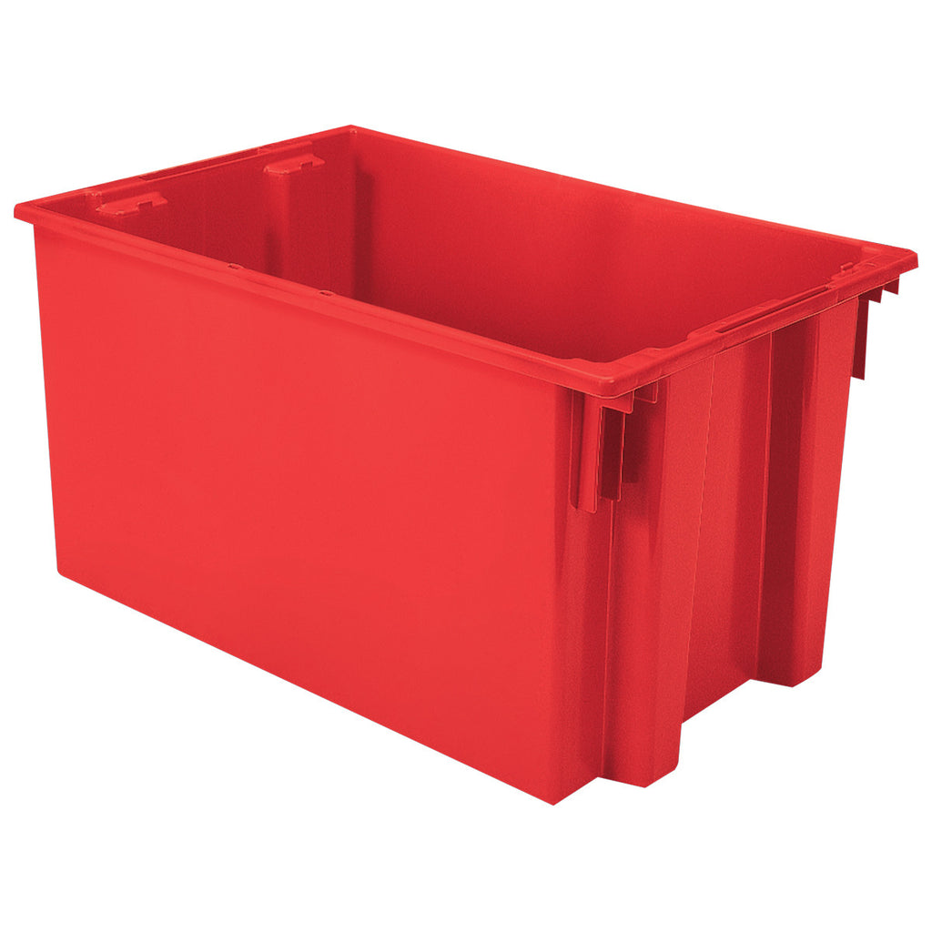 "Akro-Mils Nest & Stack Tote 35300 - 29-1/2"" x 19-1/2"" x 15"" - Red"