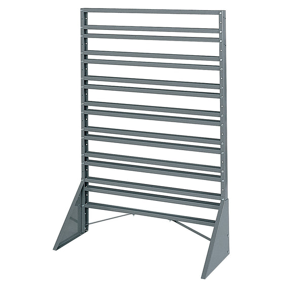 Akro-Mils One-Sided Rail Bin Rack