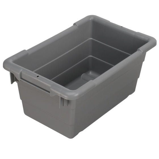 "Akro-Mils Cross-Stack Akro-Tub - Gray - 17"" x 11"" x 8"""