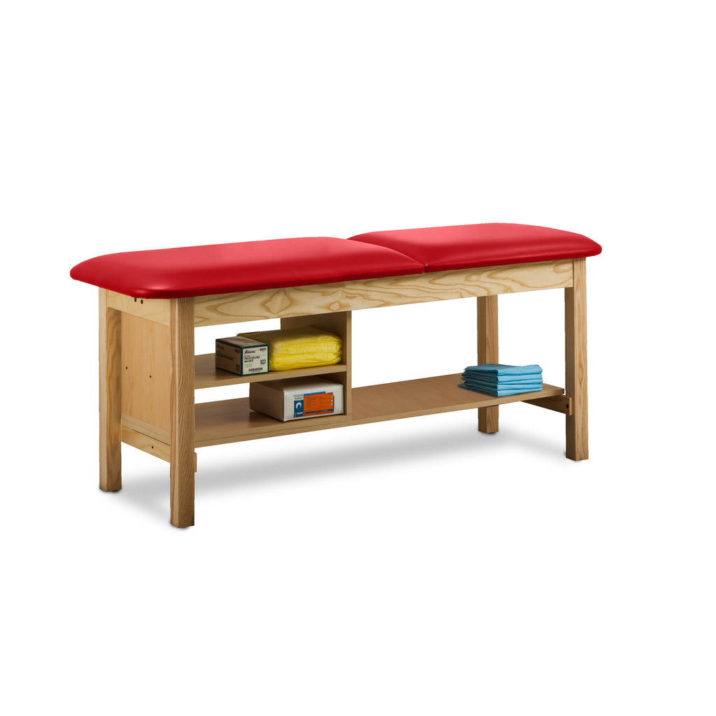 "Classic Treatment Table with Shelf Natural Wood - 24"" - Color"