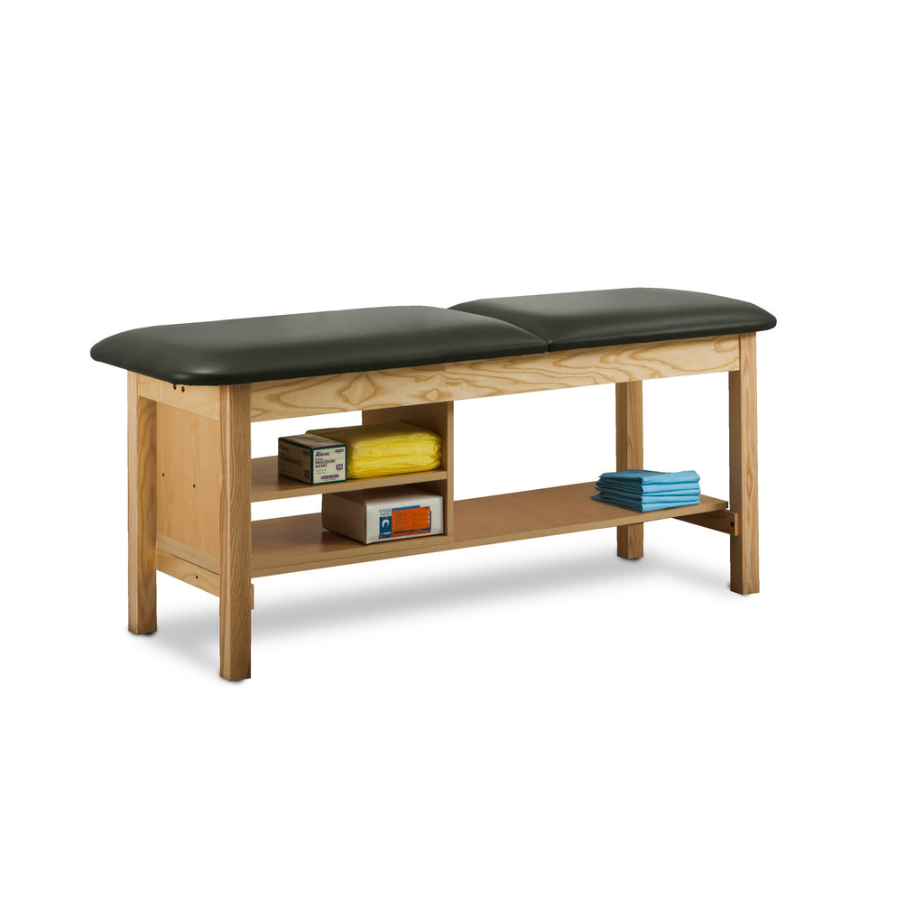 "Classic Treatment Table with Shelf Natural Wood - 27"" - Color"