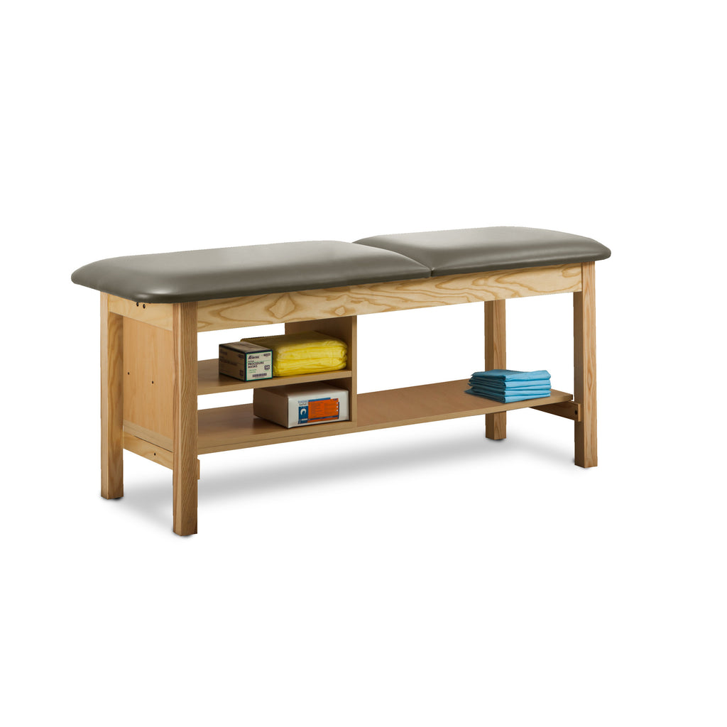 "Classic Treatment Table with Shelf Natural Wood - 30"" - Color"