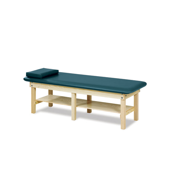 Low Height Bariatric Treatment Table - Slate Blue -