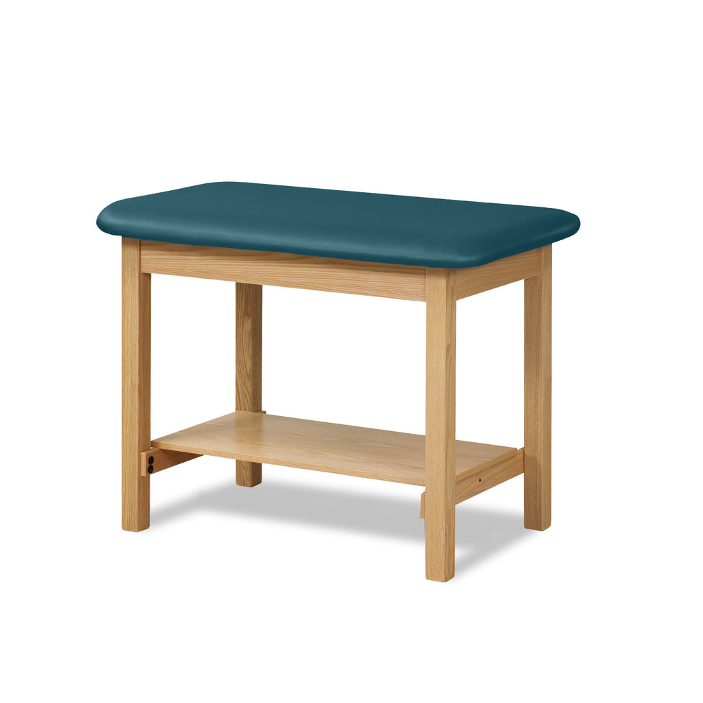 "Taping Table with Shelf - 30"" - Color"