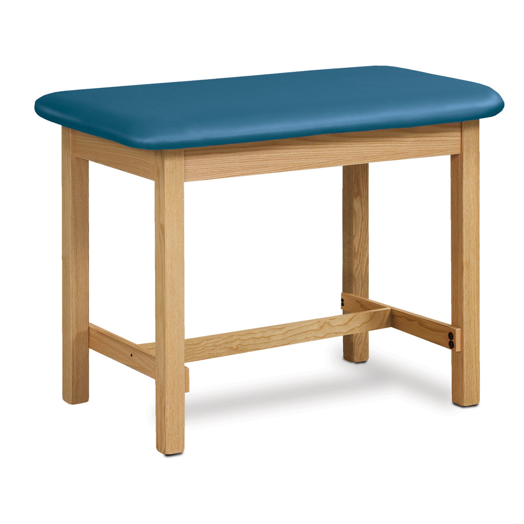 "Taping Table with H-Brace - 27"" - Color"