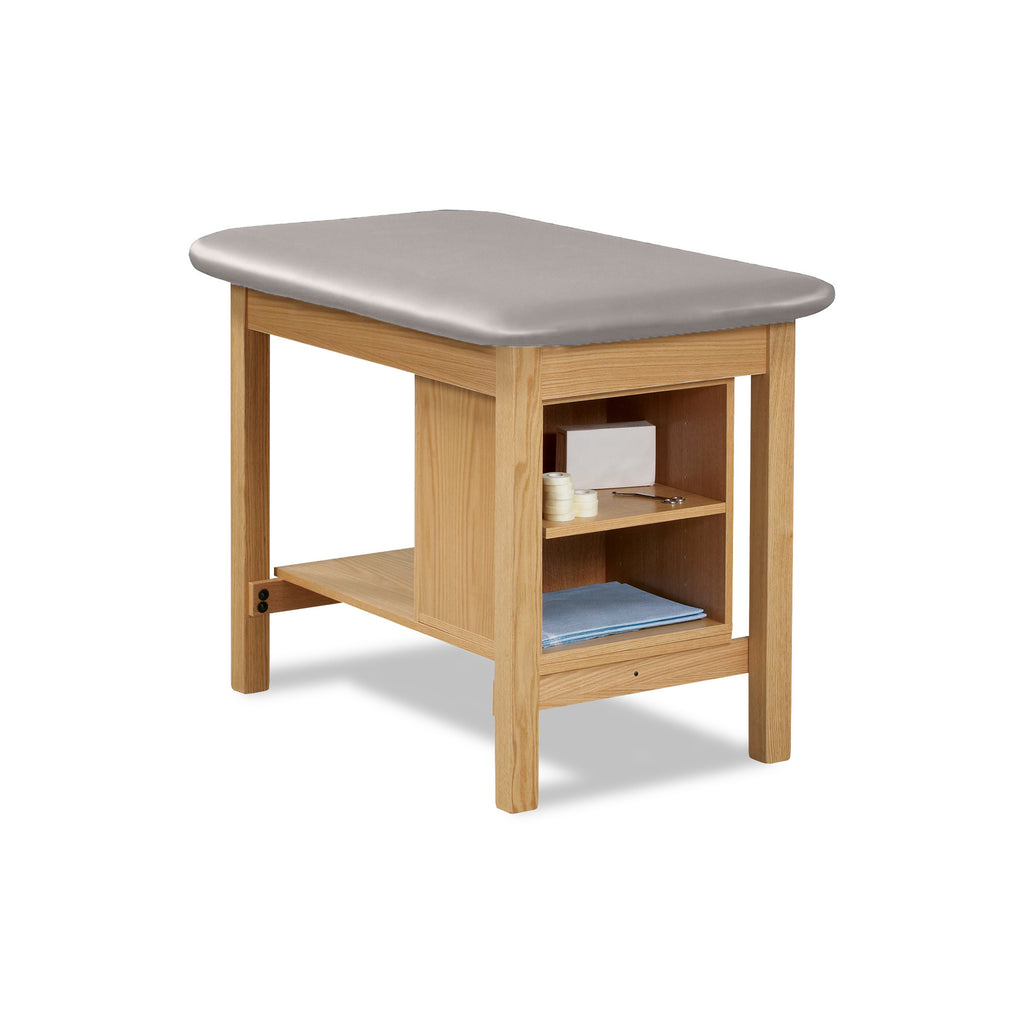 "Taping Table with Shelf and Storage - 27"" - Color"