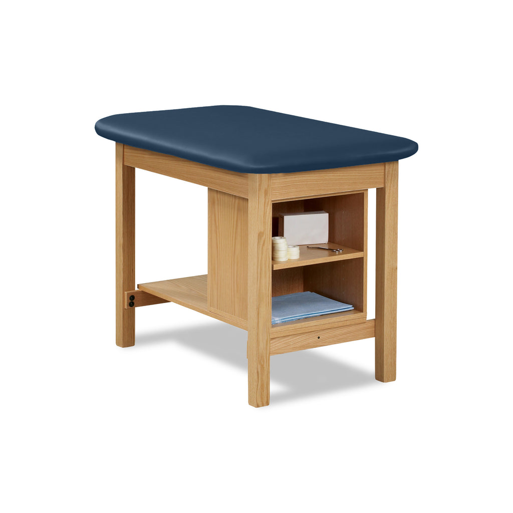 "Taping Table with Shelf and Storage - 30"" - Color"
