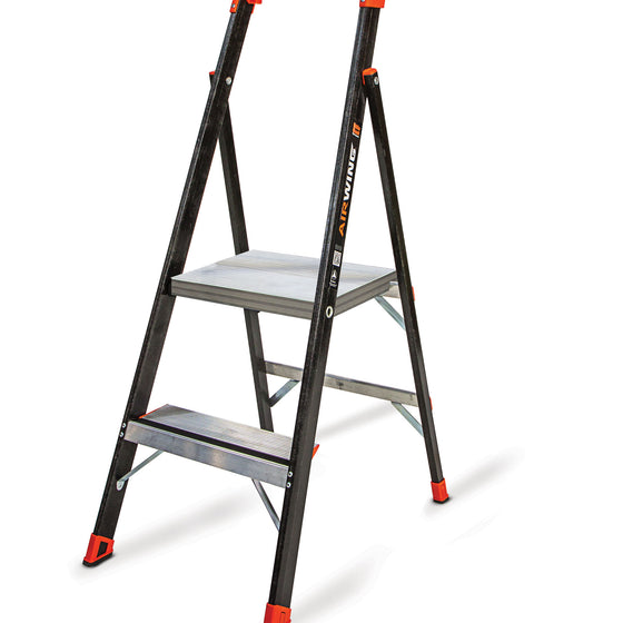Lightweight Fiberglass Stepladder | CeilBlue
