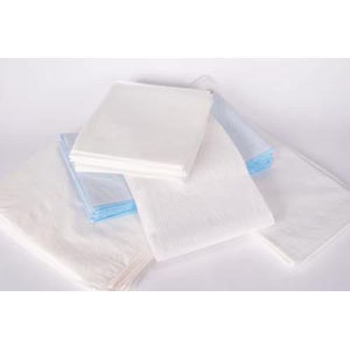 "Drape/ Stretcher Sheet, Tissue/ Poly, 40"" x 90"", White 50/pk"