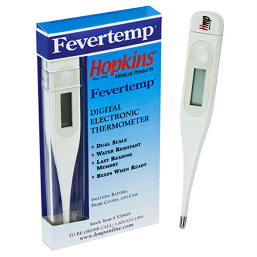 Fevertemp Digital Thermometer - Each