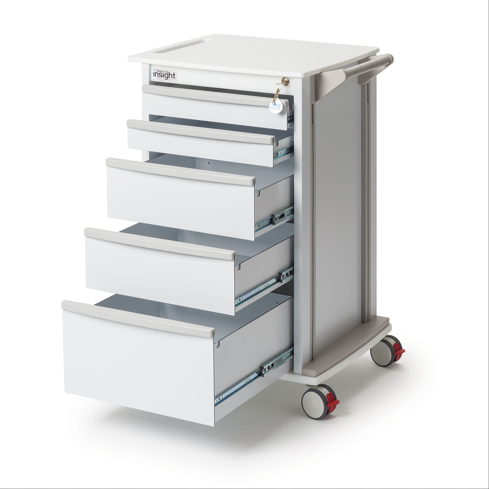 Medical Supply Storage Cart 24.25\
