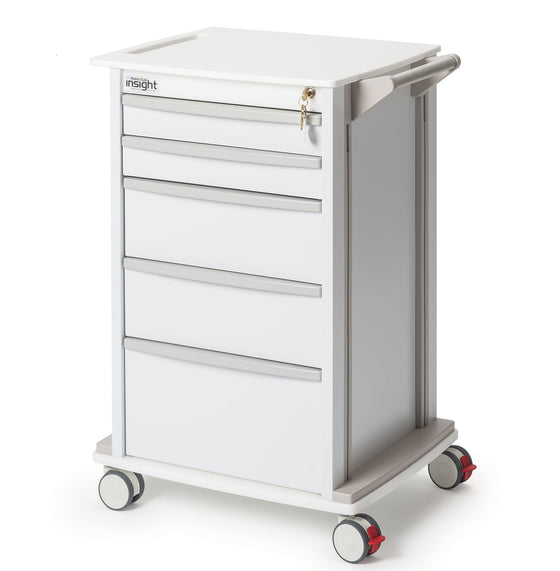 "Medical Supply Storage Cart 24.25""W x 19""L x 34.25""H"