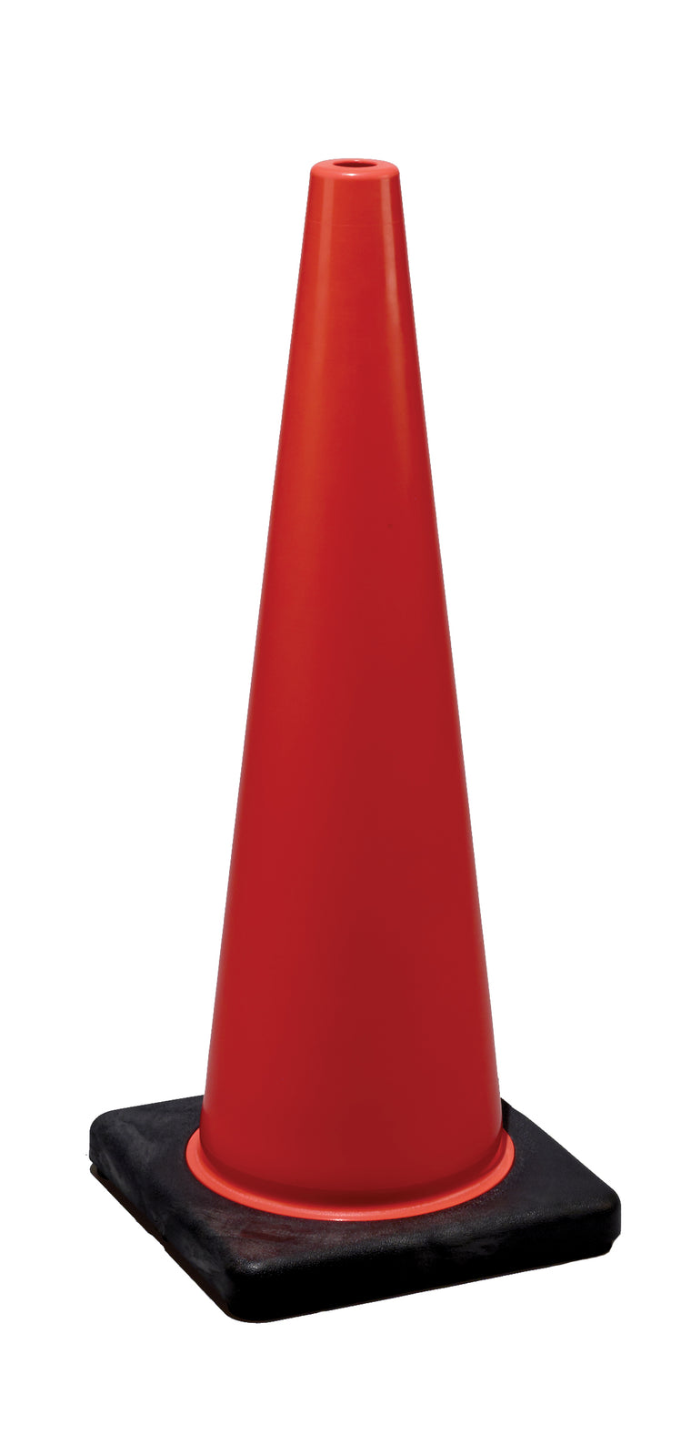 "DW Traffic Cone 28"" Orange 7# w/black base"