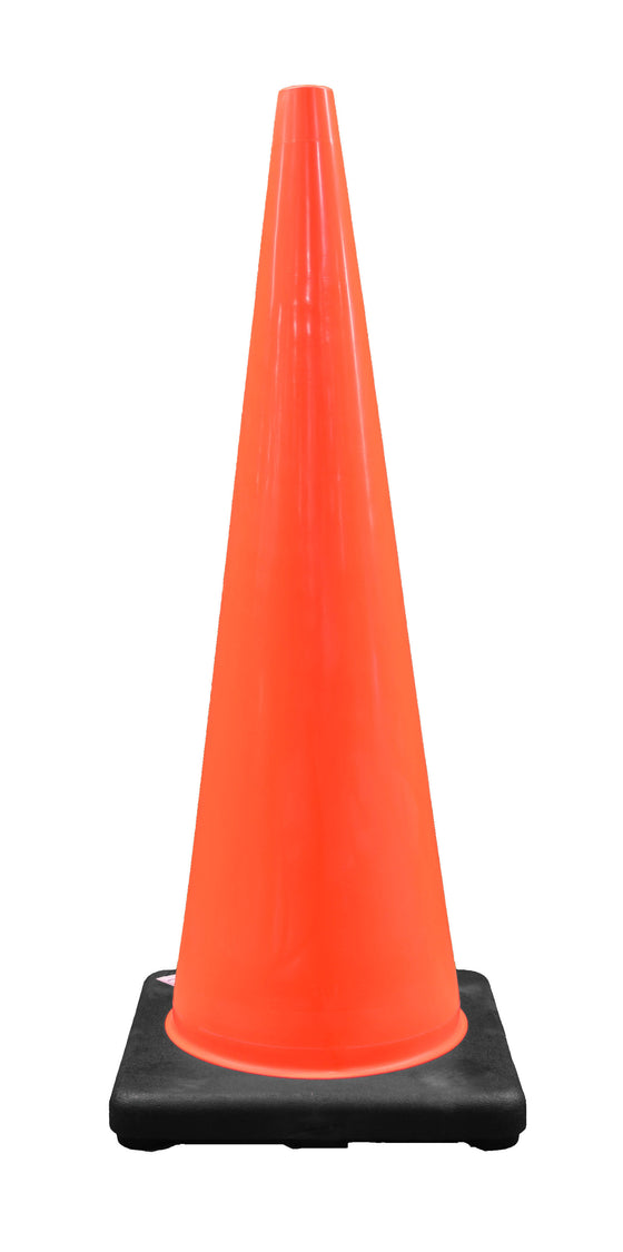 "DW Traffic Cone 36"" Orange with Black Base"