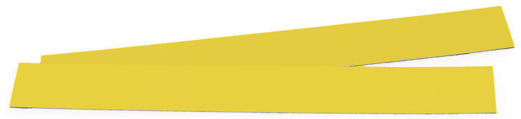 The Glove Board™ 5S/Lean Hand Protection Board - Additional Strips Blank Yellow (5pk)