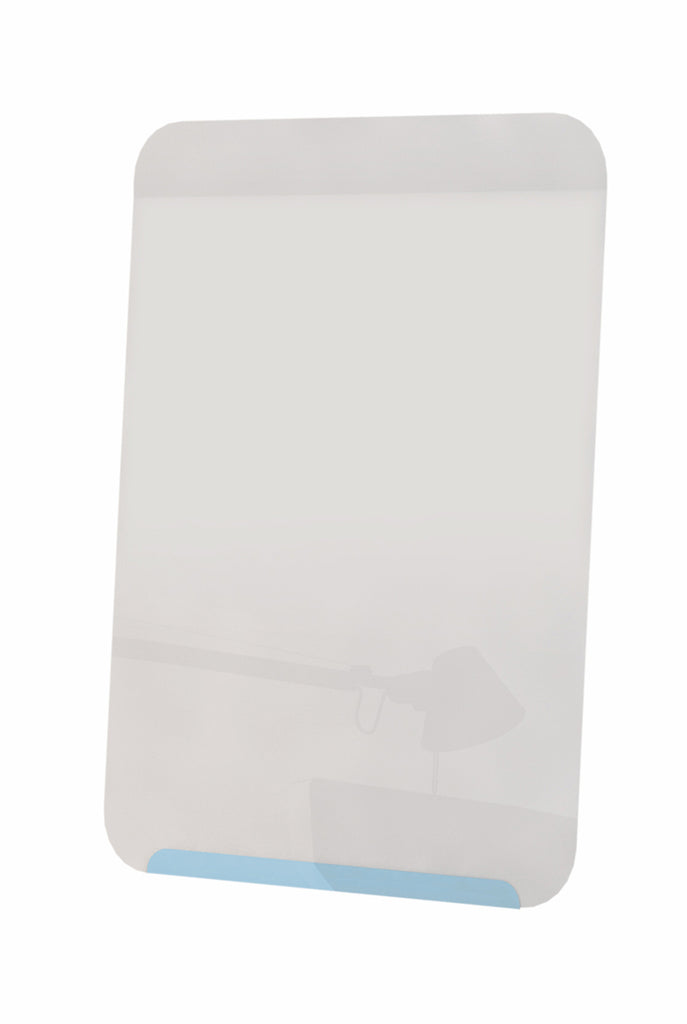 "Ghent Link Board Magnetic Whiteboard - Soft Blue Base/White Face - 24"" H x 18"" W"