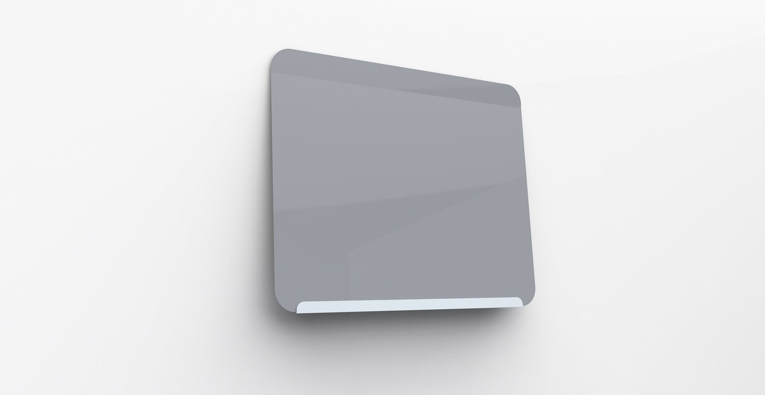 ghent link board magnetic whiteboard soft blue basegray face 24 h - Magnetic White Board