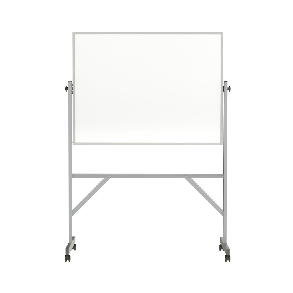 Ghent Reversible Whiteboard with Aluminum Frame - 3' H x 4' W