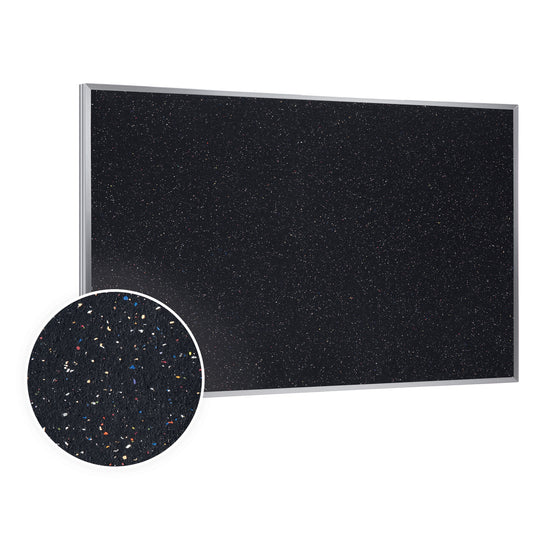 Ghent Recycled Bulletin Board with Aluminum Frame - 2' H x 3' W